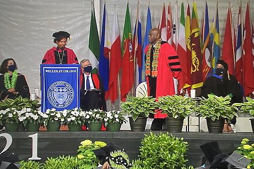 Professor Selwyn R. Cudjoe awarded the 2021 Anna & Samuel Pinanski Teaching Prize for excellence in teaching