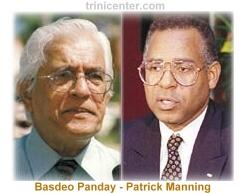Basdeo Panday and Patrick Manning