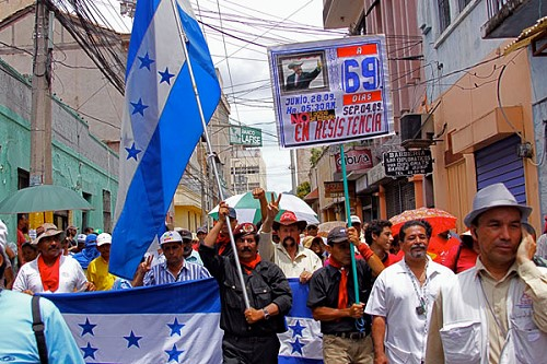 Day 69: Hondurans Are Still in the Streets!