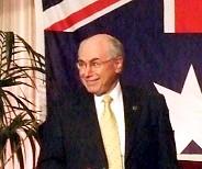 Australian Prime Minister John Howard