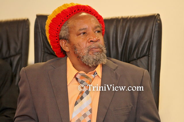 Clyde Noel, chairman of the Trinidad and Tobago Rastafari All Mansions