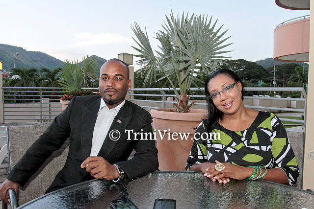 John Campo and Stacy Perez of the Trinidad Hilton