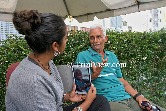 Mr. Victor Hamid, resident of Rose Hill, East Dry River, Port-of-Spain