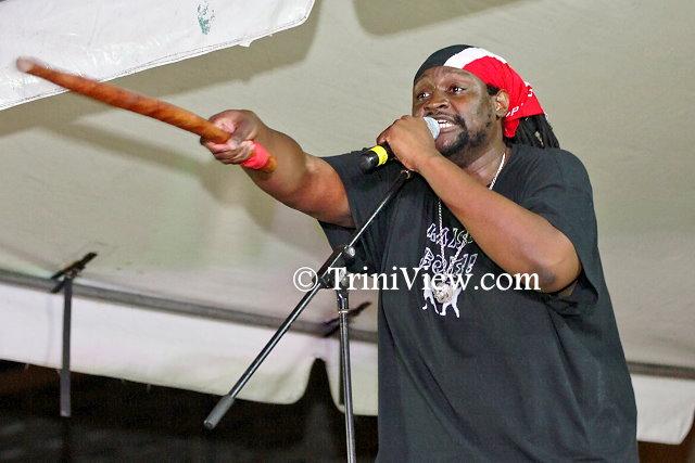 Selvon 'Mistah Shak' Noel performs his 2014 Calypso 'Bois'