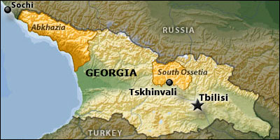 Russia, Abkhazia, Georgia, South Ossetia