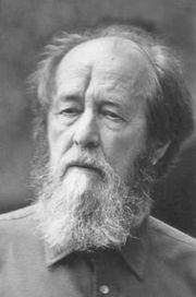 Aleksandr Solzhenitsyn late in life