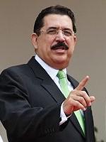 Honduran President José Manuel Zelaya
