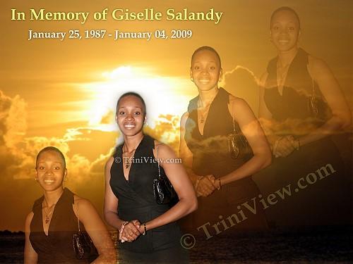Boxing champion Jizelle Salandy also known as Giselle Salandy (born January 25, 1987 - January 4, 2009)